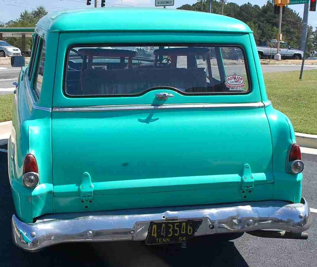 RARE 1954 PLYMOUTH TWO DOOR STATION WAGON - 4