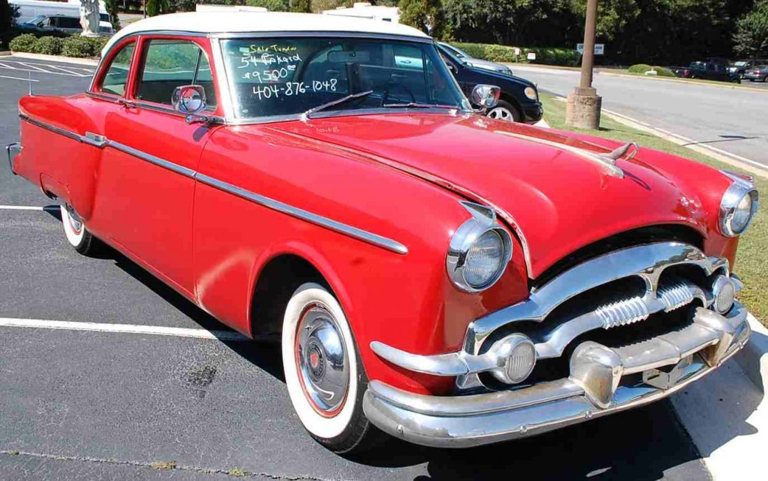 RARE 1954 PACKARD STRAIGHT EIGHT COUPE