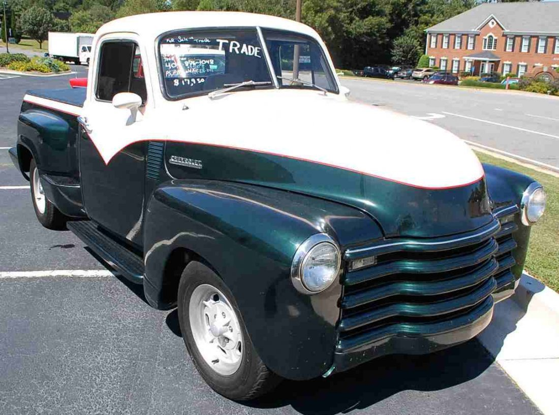1951 CHEVY CUSTOM HOT ROD PICK UP TRUCK