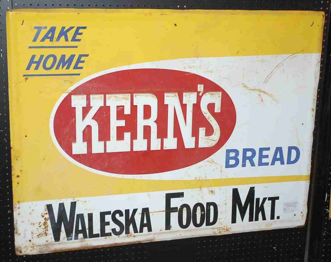 KERNS BREAD SIGN
