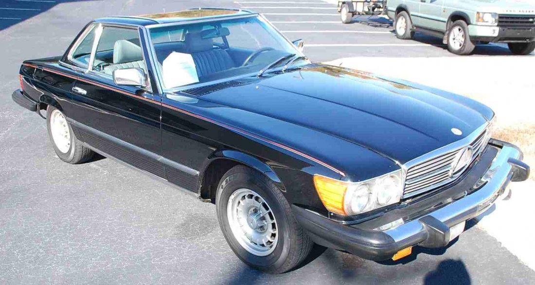 1983 MERCEDES 380 SL CONVERTIBLE