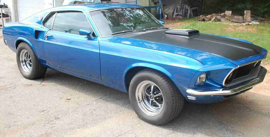 1969 FORD MUSTANG MACH 1 RESTORED