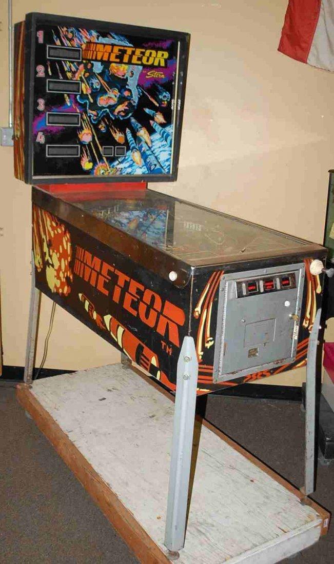 STERN METEOR PINBALL MACHINE