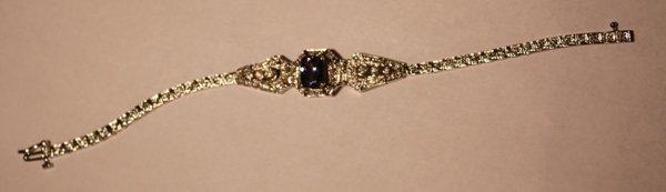 23: Tanzanite & Dia. Bracelet - 2.35 ct Tan. / 1.11 ct