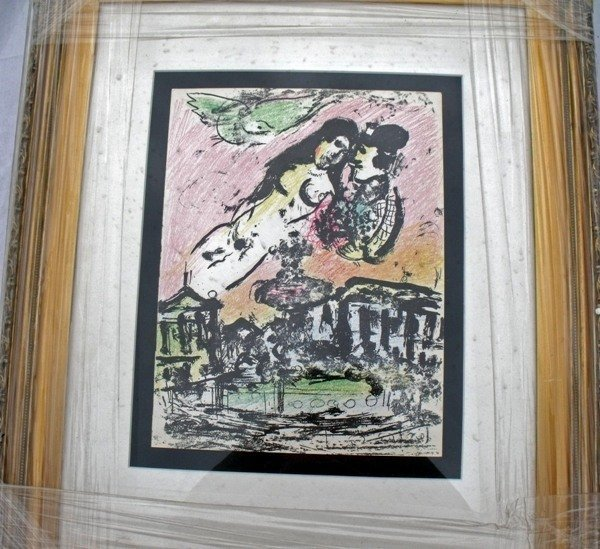 "174: CHAGALL  ""THE LOVERS HEAVEN"""