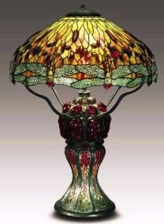 1162: Dragonfly Table Lamp