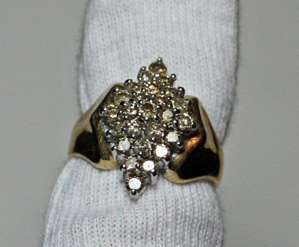 7: 1.01 Carat Total Weight Diamond Ring