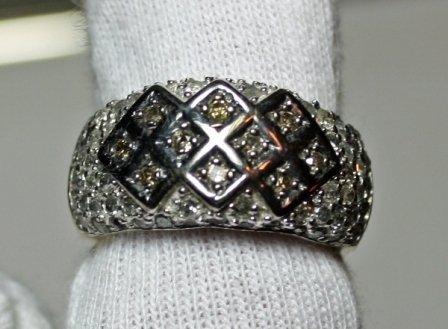 4: 1.04 Carat Total Weight Diamond Ring