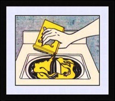 """1023: """"Washing Machine"""" Roy Lichtenstein"""