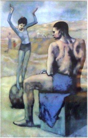 "7: ""Acrobat on Ball"" Picasso"