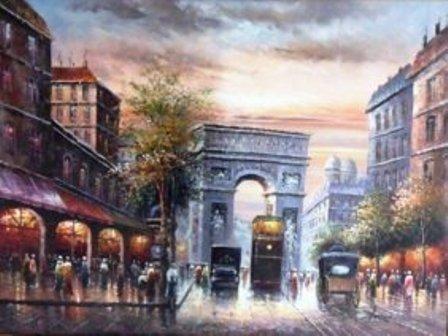"22: Antoin ""Paris Street Scence"""