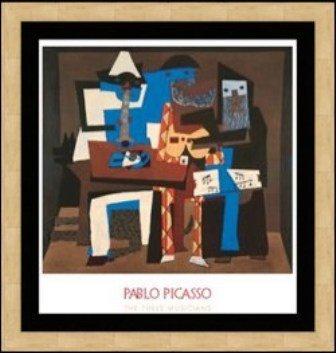 "271: ""The Three Musicians"" Pablo Picasso"