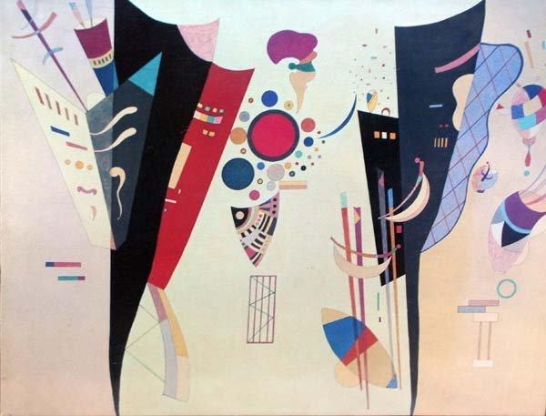"""32: Wassily Kandinsky """"DECOUPE"""" ORIGINAL LITHOGRAPH"""