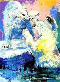 "66: NEIMAN ""POLAR BEARS"" ORIGINAL SERIGRAPH 1979"
