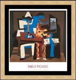 "756: ""The Three Musicians"" Pablo Picasso"