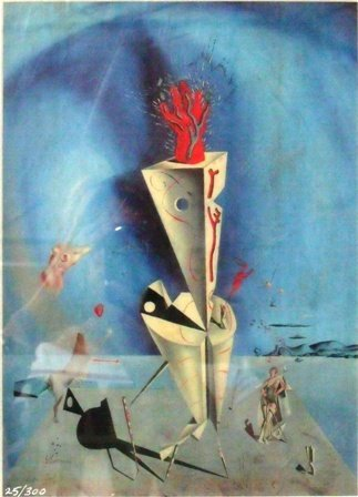 "9: ""Apparatus and Hand"" Salvador Dali"