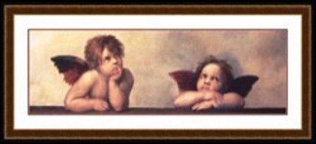 """11: """"Santa Marie (Detail)"""" Raphael"""