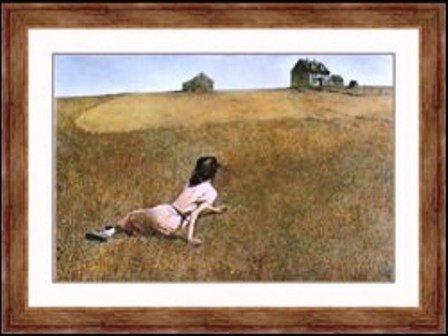 "17:  ""Christinas World"" Andrew Wyeth"