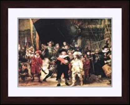 """23:  """"The Night Watch"""" Rembrandt"""