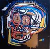 "BASQUIAT ""HEAD"" ORIGINAL SIGNED RARE"