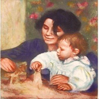 """""""Gabrielle et Jean"""" Renoir"""