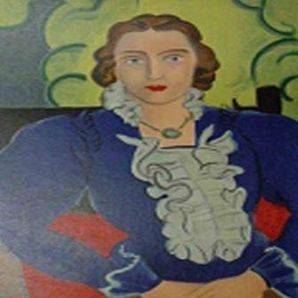 """""""Madame L.D. La Blouse Bleue """" Matisse"""