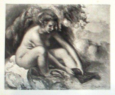 """5: """"Femme se Chaussant"""" Renoir"""