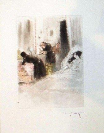 """17: """"La  Dame au Camelias""""  Icart"""