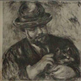 """""""Mon Portrait"""" Pierre-Auguste Renoir"""