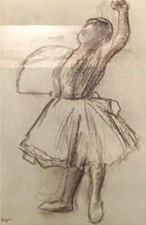 """""""From The Danse Dessin"""" Edgar Degas"""