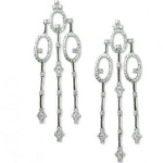 2.69 Ct Vs Diamond Earrings 18kw