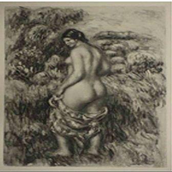 """Baigneuse"" Pierre-Auguste Renoir"