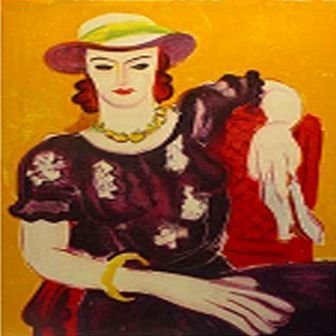 """""""Femme a la Chaise Rouge"""" Matisse"""