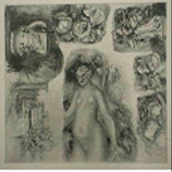 """Etudes"" Pierre-Auguste Renoir"