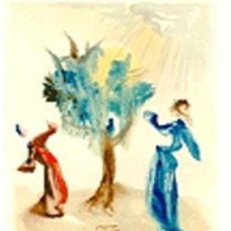 """The Tree of Punishment "" Salvador Dali"