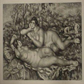 """""""Le Repos a la Bain"""" Renoir"""
