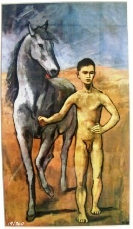 """""""Nude Young Name With Horse"""" Picasso"""