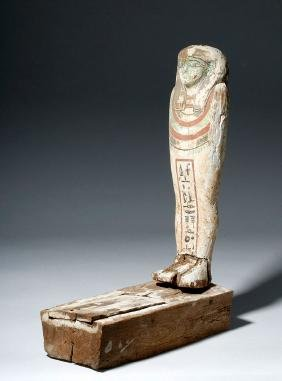 Egyptian Polychrome Ptah Sokar Osiris