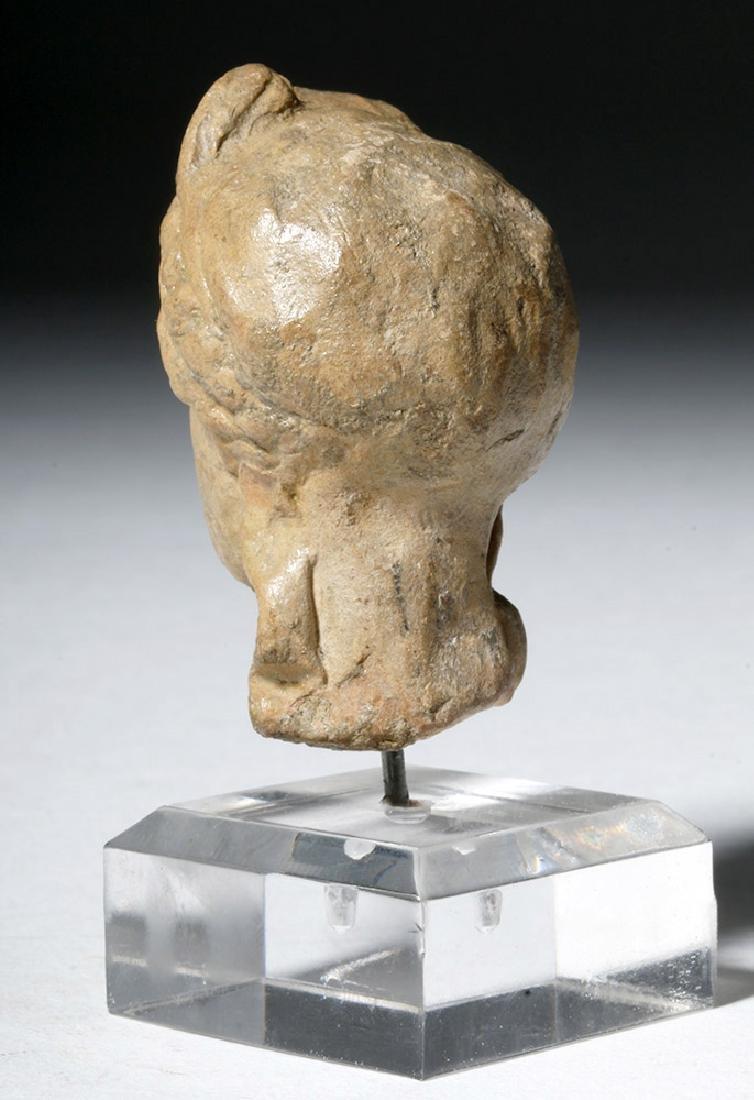 Ancient Greek Terracotta Head of a Goddess - 2