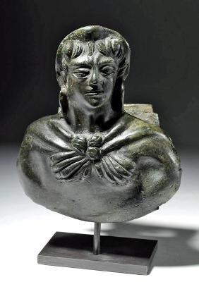 Roman Bronze Attachment, ex-Royal Athena