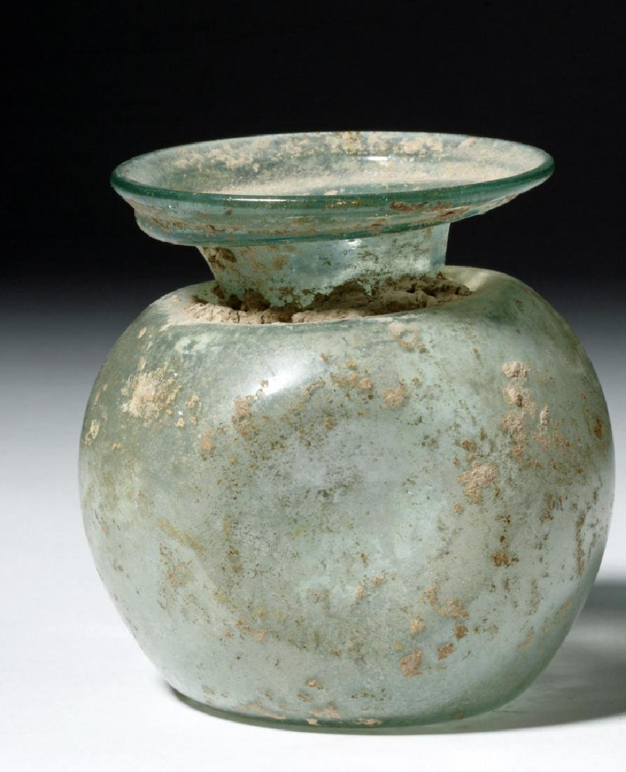 Roman Glass Vessel - Indented Sides - 3