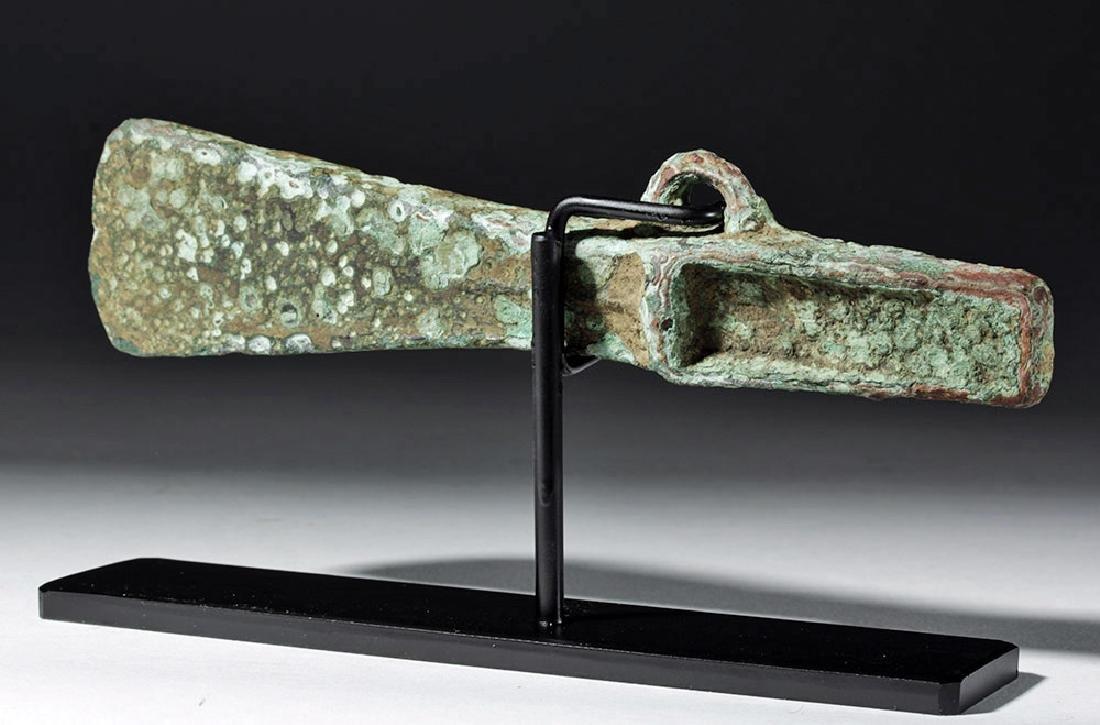 Ancient Celtic Bronze Axe Head - 3