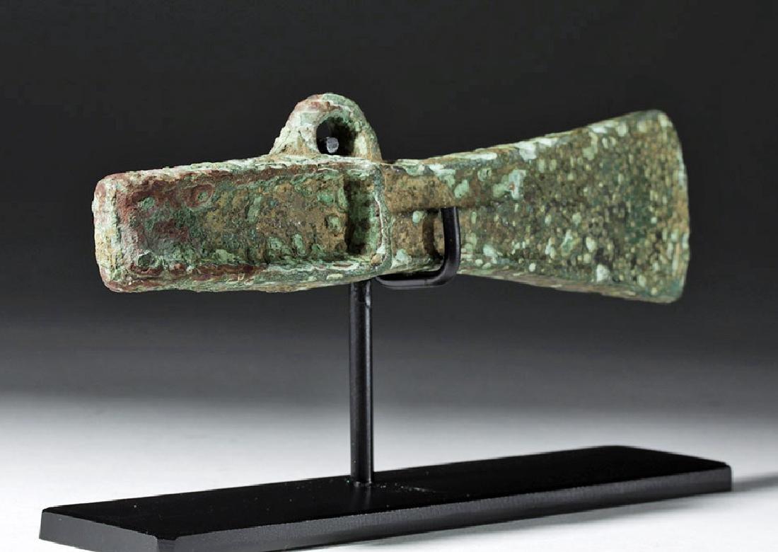 Ancient Celtic Bronze Axe Head - 4