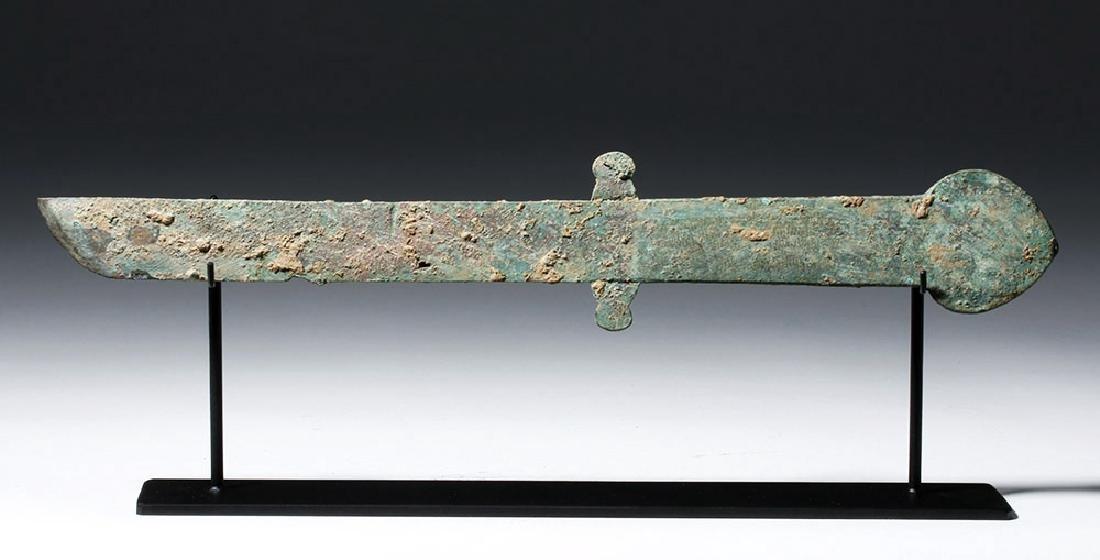 Chinese Han Dynasty Bronze Knife (Dao), ex-Piscopo