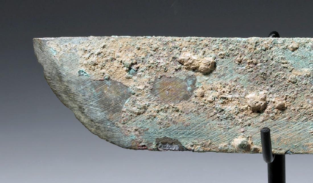 Chinese Han Dynasty Bronze Knife (Dao), ex-Piscopo - 2