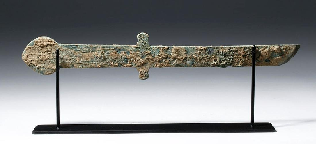 Chinese Han Dynasty Bronze Knife (Dao), ex-Piscopo - 5