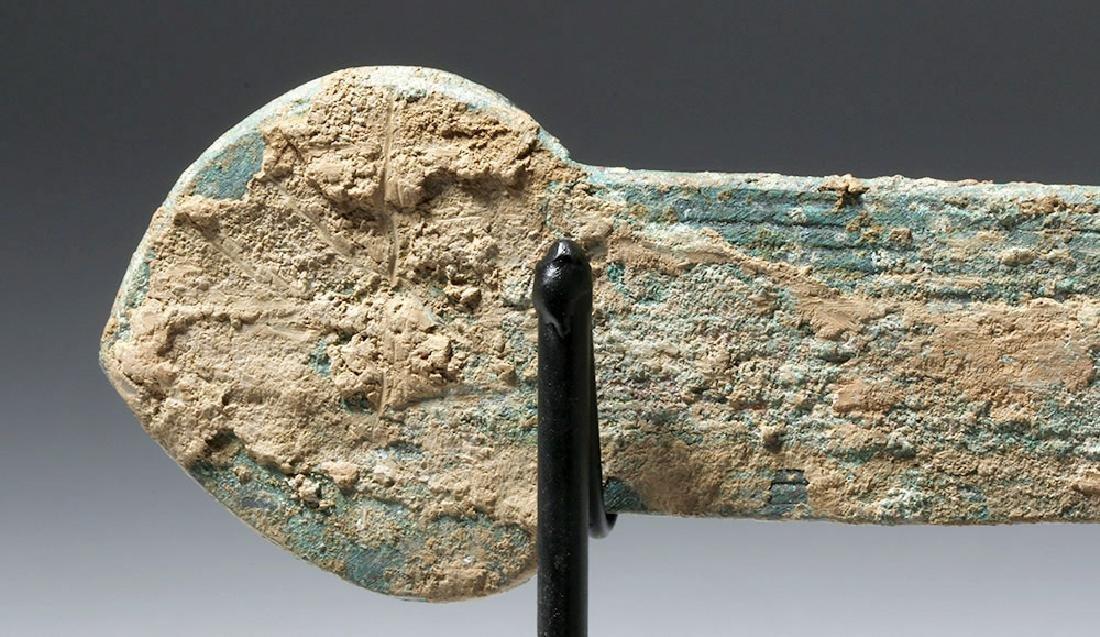 Chinese Han Dynasty Bronze Knife (Dao), ex-Piscopo - 6