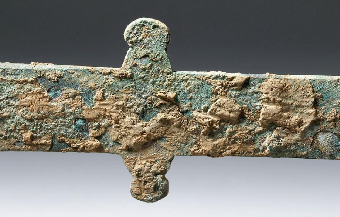 Chinese Han Dynasty Bronze Knife (Dao), ex-Piscopo - 7
