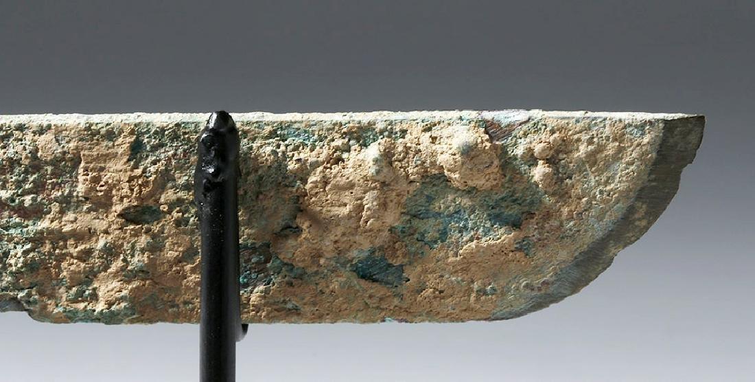 Chinese Han Dynasty Bronze Knife (Dao), ex-Piscopo - 8