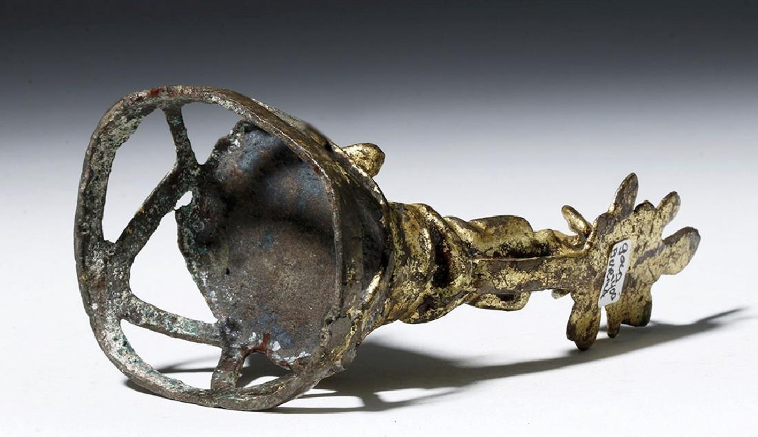18th C. Burmese Gilded Bronze Buddha / Shrine - 6